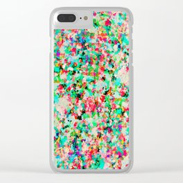 Informel Art Abstract G214 Clear iPhone Case