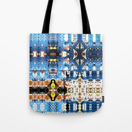 A bit of a lock. Tote Bag