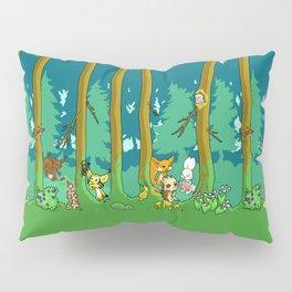 Deep inside the Forest Pillow Sham