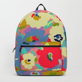 Bright camo flowers Backpack