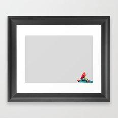 Longboard Girl 01 Framed Art Print