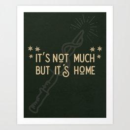 But Its Home Potter Snake Art Print