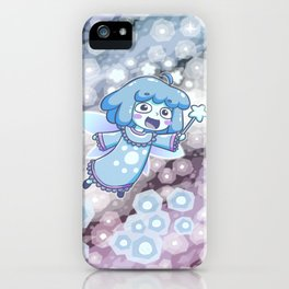 Blue Dwarf Star Fairy iPhone Case