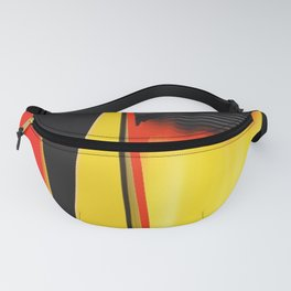 Points and Edges Abstract Fanny Pack