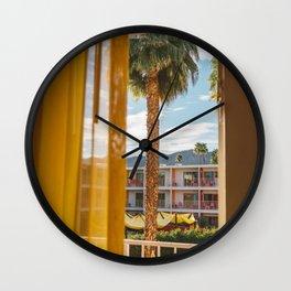Palm Springs Dreams Wall Clock