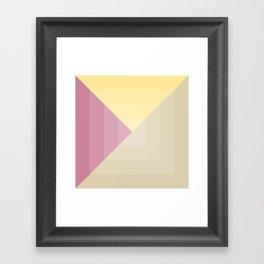 Berries and Vanilla Ice Cream Framed Art Print