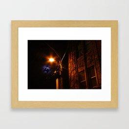 GARGOYLE CLIFF Framed Art Print