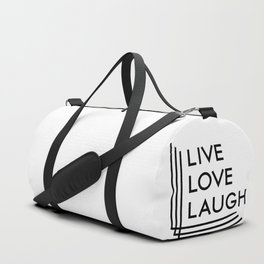 Live Love Laugh Duffle Bag