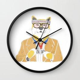 Richie Tenenbaum doge Wall Clock