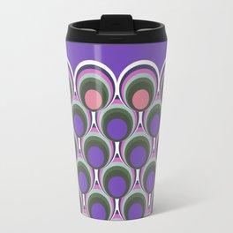 Japanese pattern ultra violet Travel Mug