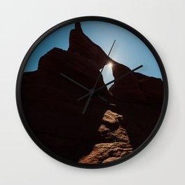 Arch Light Wall Clock