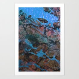 The Painter's Brush :: Corrupted Ocean Art Print