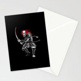 Zombie Samurai (White version) Stationery Cards