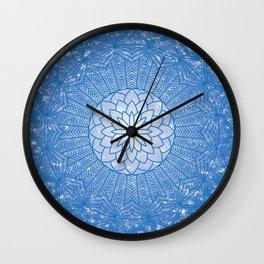 The Throat Chakra Wall Clock