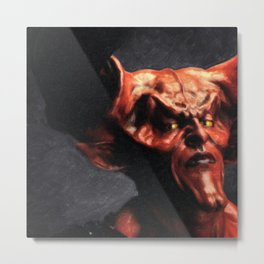 Lord Of Darkness Metal Print