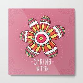 Spring Flower Metal Print