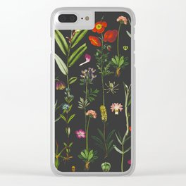 Exquisite Botanical Clear iPhone Case
