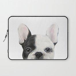 French Bulldog Dog illustration original painting print Laptop Sleeve