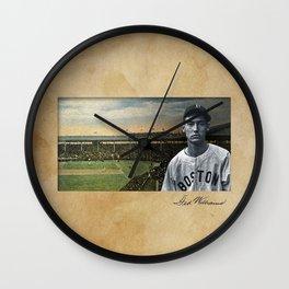 Baseball Vintage Ted Williams Wall Clock