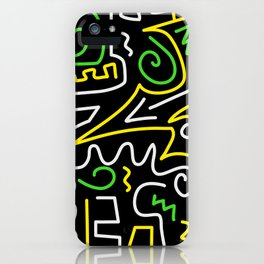 A-Mazing Neon iPhone Case