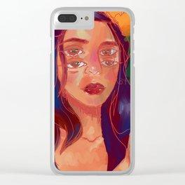 hot skin Clear iPhone Case