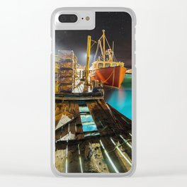 Light in the Wharf Clear iPhone Case
