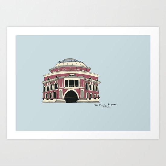 Royal Albert Hall Art Print