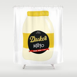 Duke's Mayonnaise Shower Curtain