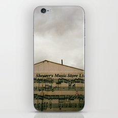 The Music Store iPhone & iPod Skin