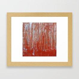 Forty Years Framed Art Print