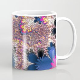 Floral Fractal 02 Coffee Mug