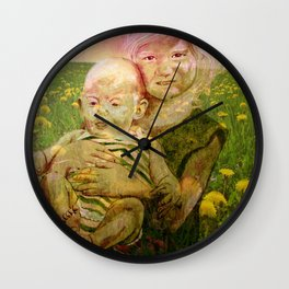 SUMMER SISTERS Wall Clock