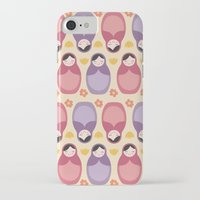 russian iPhone & iPod Cases featuring Russian Dolls by ItsJessica