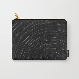 Circles (Black and White) Carry-All Pouch