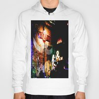 concert Hoodies featuring Concert at Witzend, Venice by Kim Ramage
