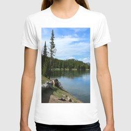 Serene Yellowstone River T-shirt