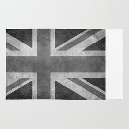 UK flag, High quality 1:2 Vintage Rug