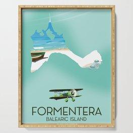 Formentera Balearic island Serving Tray