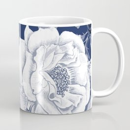 BLUE NATURE - FLOWERS Coffee Mug