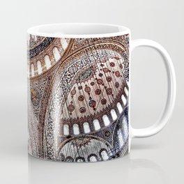 Blue Mosque Interior Domes Istanbul Coffee Mug