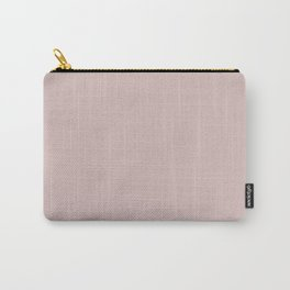 Plain Shell Pink Color from SimplyDesignArt's Limited Palette  Carry-All Pouch