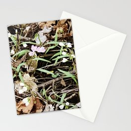 Nature in the eyes of a 9 year old Stationery Cards