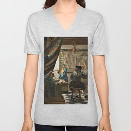 The Art of Painting - Digital Remastered Edition Unisex V-Neck