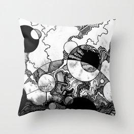 Zappysphere Throw Pillow