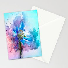 Blue Poppy Stationery Cards