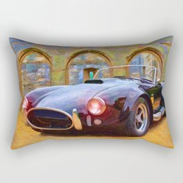 Classic Cobra – Painting - by Liane Wright Rectangular Pillow