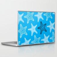 starfish Laptop & iPad Skins featuring Starfish by Dana Martin