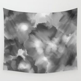 Black and white watercolor Wall Tapestry