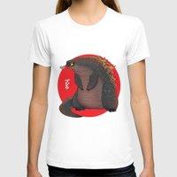 godzilla T-shirts featuring GODZILLA by olivier silven
