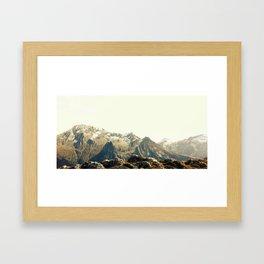 Grand Bec Framed Art Print